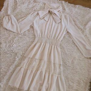 Lace pattern (vintage style) dress